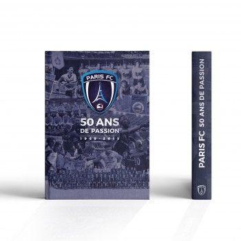 Livre du Paris FC : 50 ANS DE PASSION
